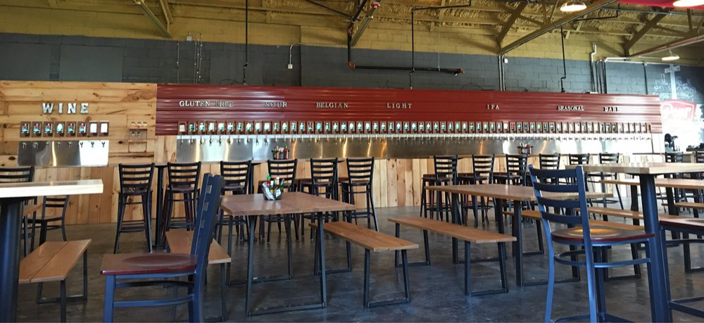 New Install Pour Taproom Greenville Sc 70 Taps