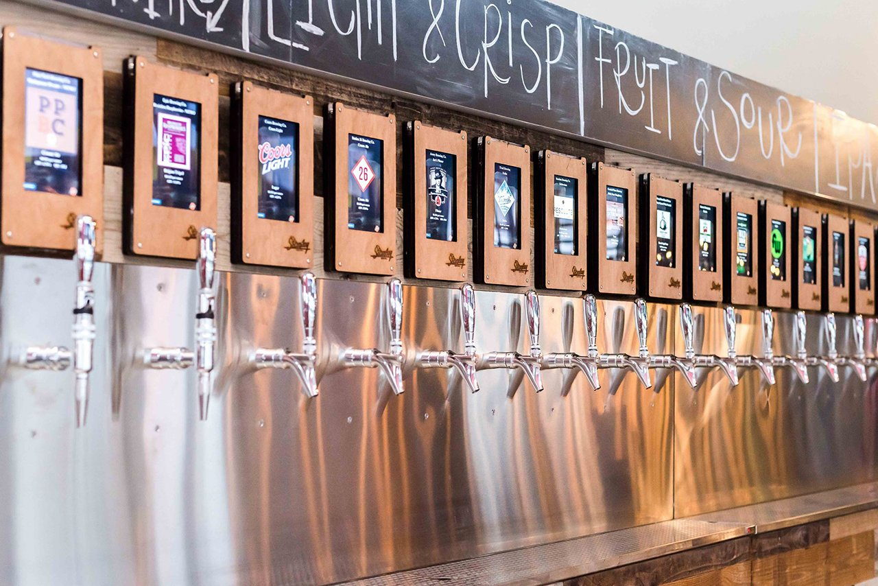 Stanley Beer Hall Re Opens With A Self Serve Beer Wall