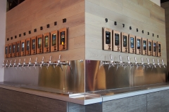 zpizza Beer Wall